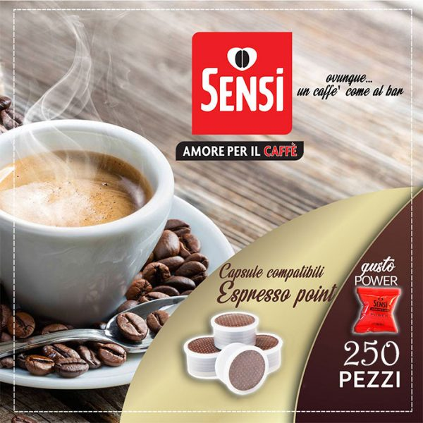Capsule Sensi Compatibili Lavazza Espresso Point Gusto Power